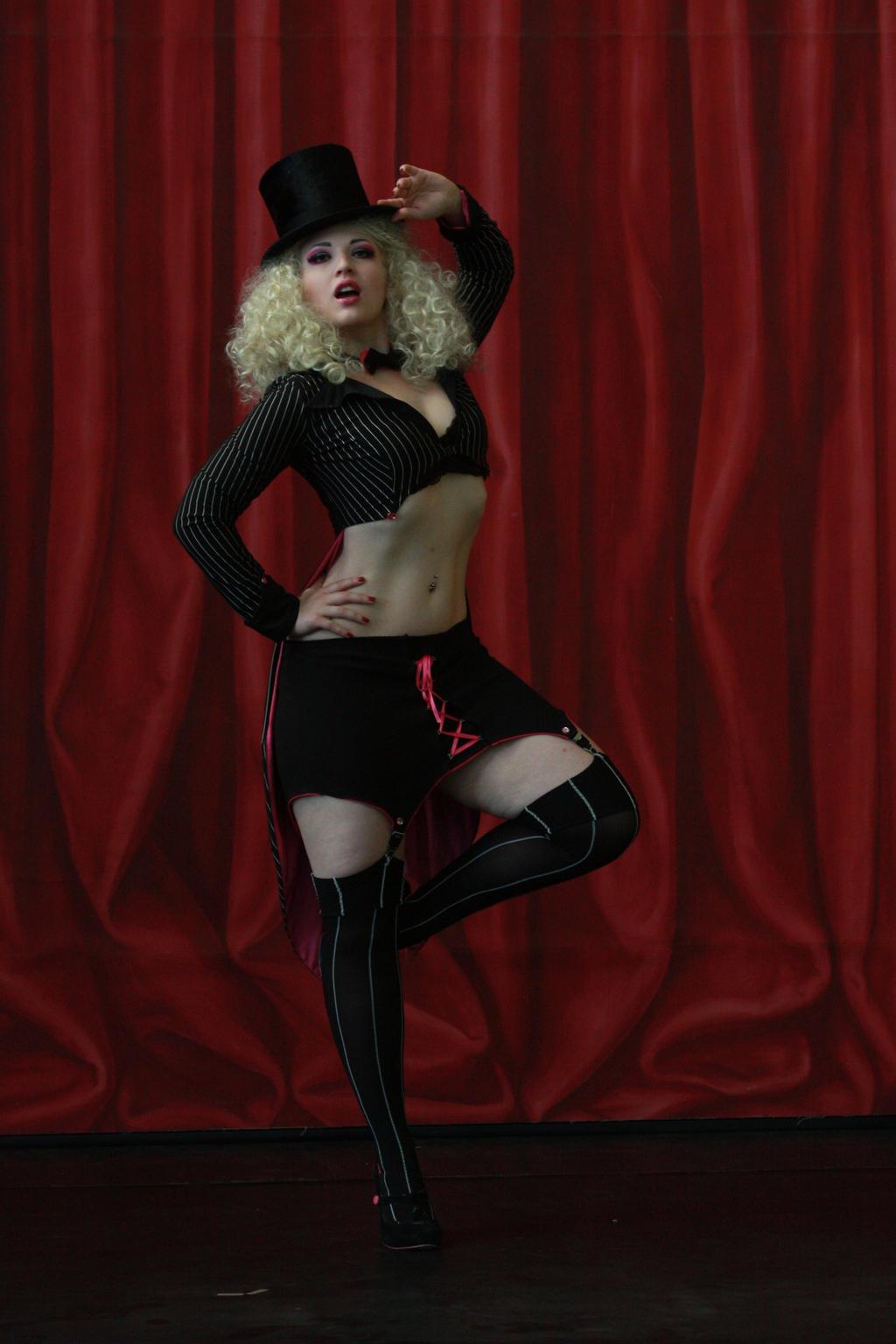 STOCK bourlesque girl I by MyladyTane