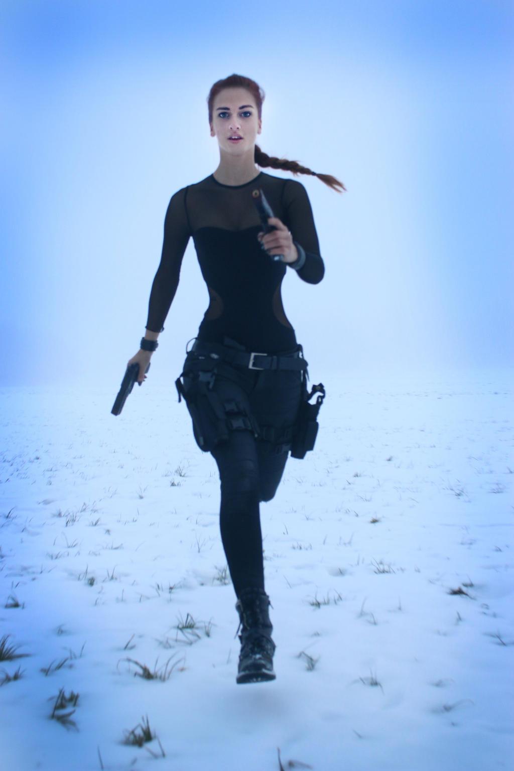 STOCK Lara Croft II by MyladyTane