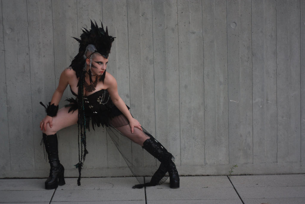 Gothic Mohawk Stock IV by MyladyTane