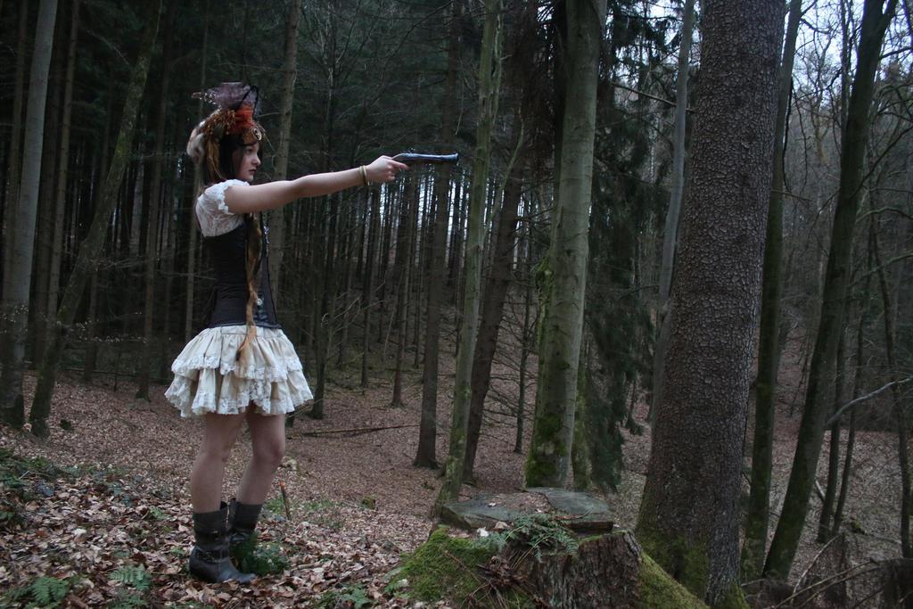 STOCK Steampunk woman II by MyladyTane