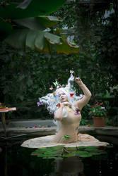 STOCK Butterfly girl III by MyladyTane