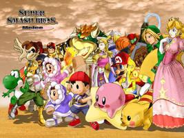 Super Smash Bros Melee by ANGElsilvestre