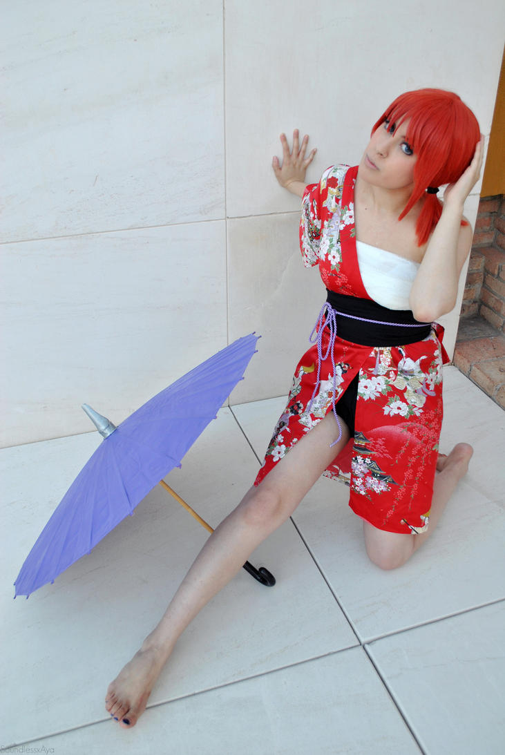 Gintama - Summer! Kagura. by AyaxSoundless