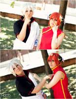 Gintama - Like father and daughter.