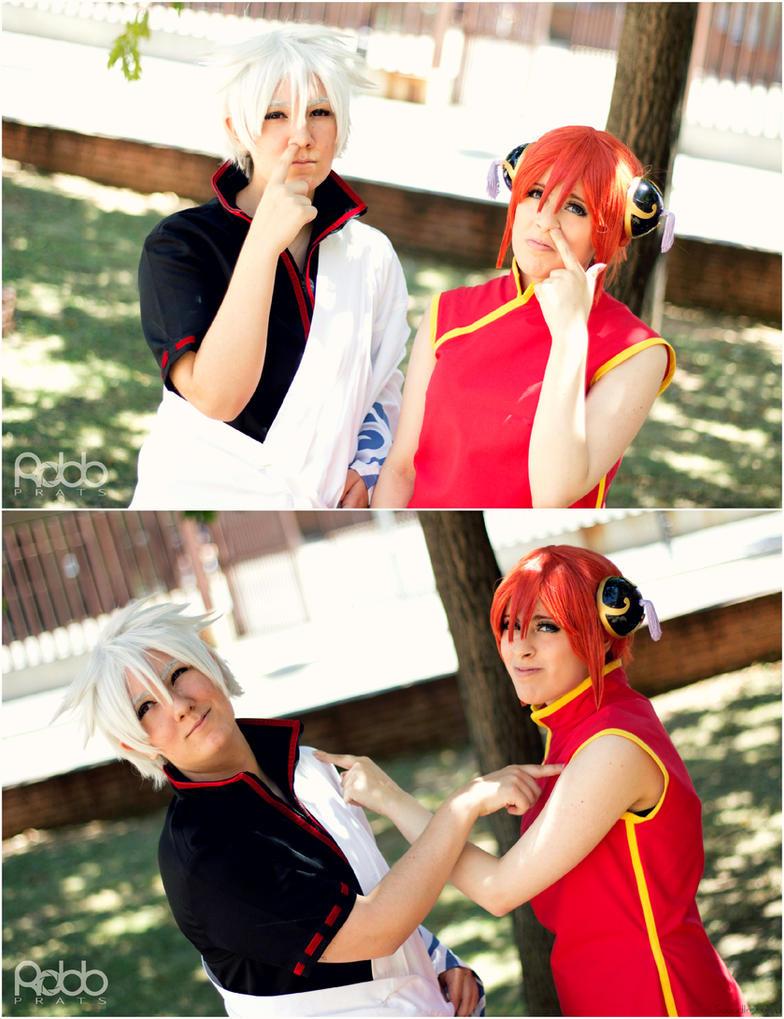 Gintama - Like father and daughter. by AyaxSoundless