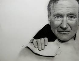Robin Williams by BladaMerry