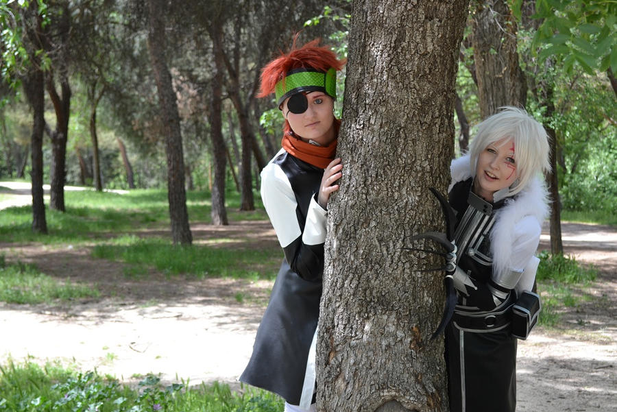 Lavi and Allen by Viveeh