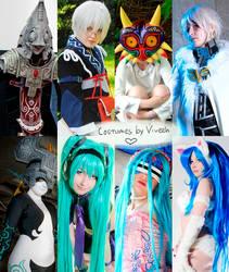 My cosplays by Viveeh