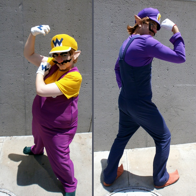Wario and Waluigi cosplay by Viveeh on DeviantArtWaluigi And Wario Costumes