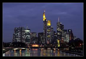 Frankfurt Skyline by cody29