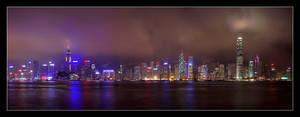 HK II - Hong Kong Skyline by cody29