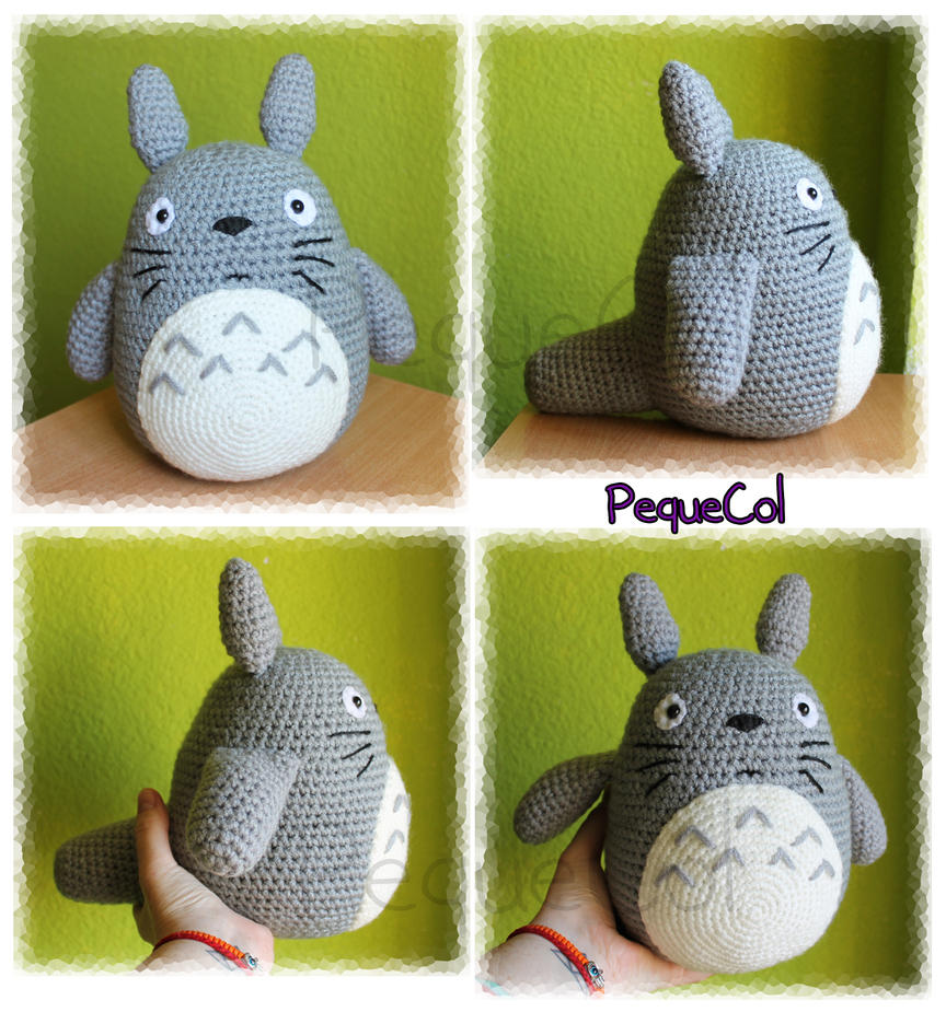 Big Totoro amigurumi by PequeCol on DeviantArt