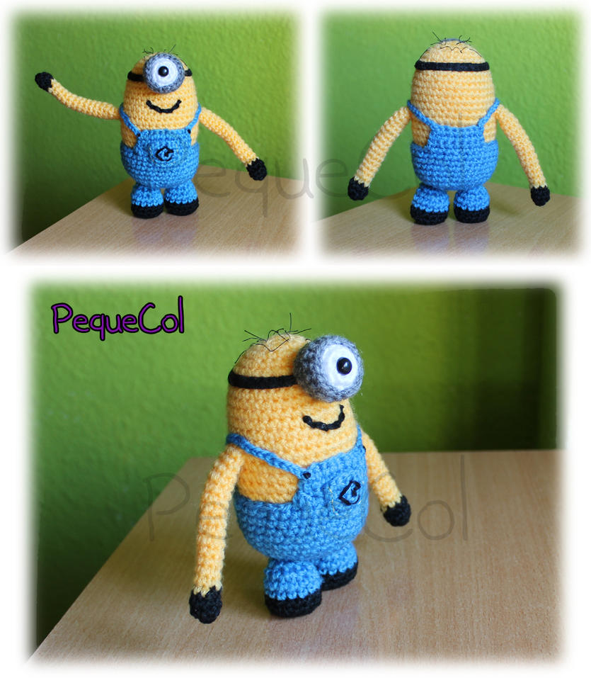 Minion Amigurumi! 1 by PequeCol on deviantART