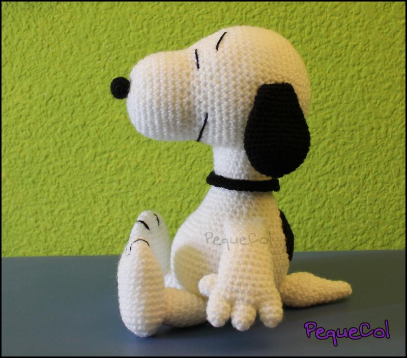 Amigurumi Tutorial Snoopy : Snoopy amigurumi by pequecol on deviantart