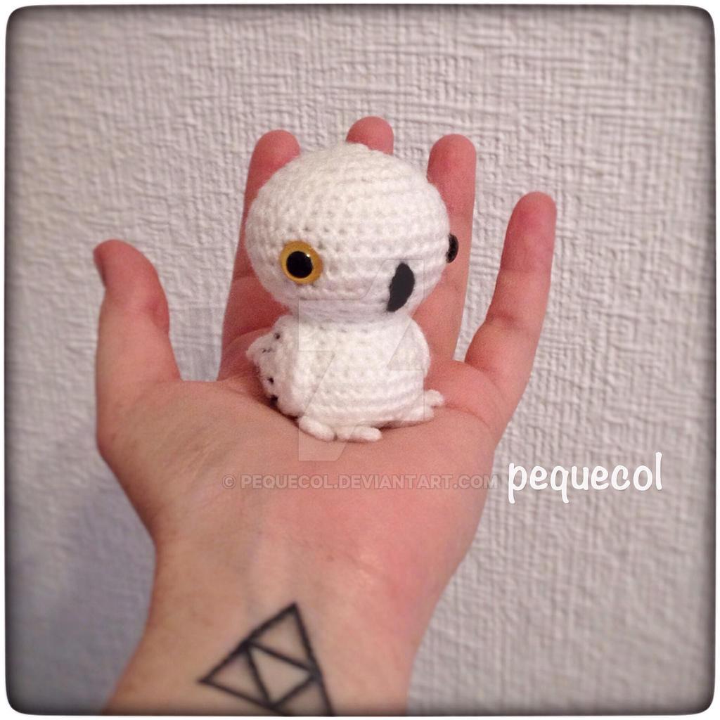 Chibi Hedwig kawaii amigurumi by PequeCol on DeviantArt