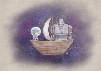 Boat Trip In Space