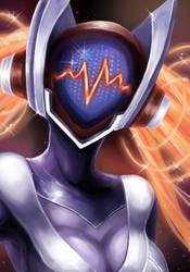 DJ Sona Concussive fanart by lily36912