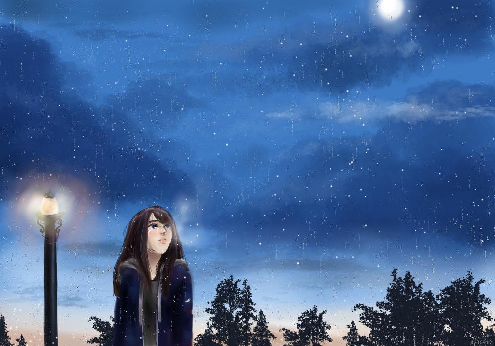 Rainy Night by lily36912