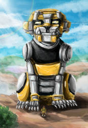 Voltron: Legendary Defenders Hunk and Yellow Lion