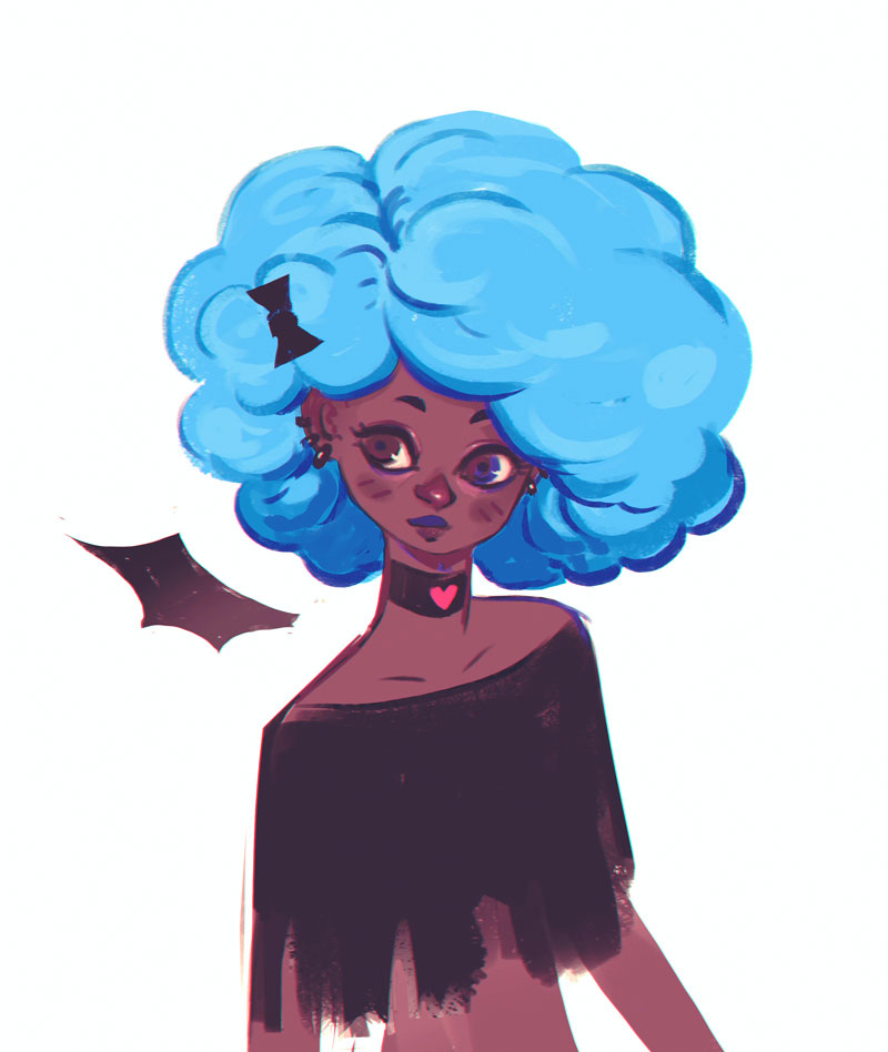 Afro by Lun-acy