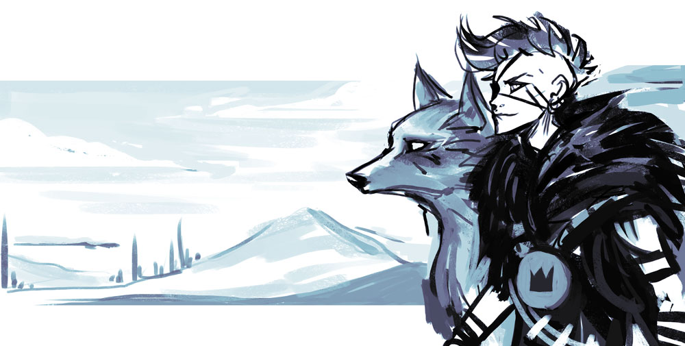 Wolf Prince by Lun-acy