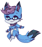 Non Animated Pixel Commission for KatieWolfChan by Fleesy2