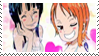 Stamp - Robin and Nami by coffeefanatic3462