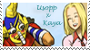 Stamp - Usopp x Kaya 1 by coffeefanatic3462