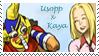 Stamp - Usopp x Kaya 1 by coffeefanatic3462