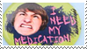 Stamp - I Need My Meds by coffeefanatic3462