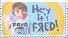 Stamp - Hey It's Fred by coffeefanatic3462