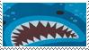 Stamp - Cute Shark by coffeefanatic3462
