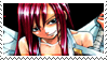 Fairy Tail - Erza Stamp 1 by coffeefanatic3462