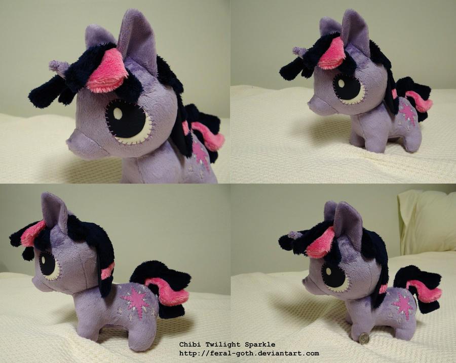 Commish - FIM: Chibi Twilight Sparkle by HyenaTeeth