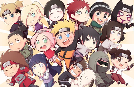 Naruto and Frands