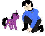 Spock and Baby! Stardust by MLP-HeartSong-FiM