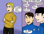 Uh huh, suuure Kirk. by MLP-HeartSong-FiM