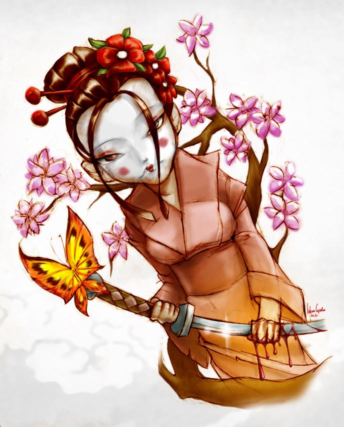 Geisha by 3rdeyelab
