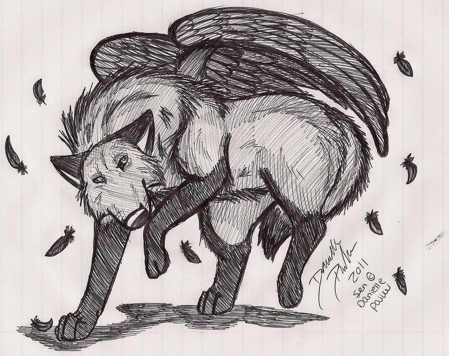 The Fallen Angel by Senwolf10
