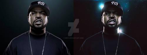 Ice Cube Photo manipulation by BrFX