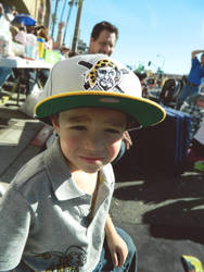 Little Bro at the Rose Parade