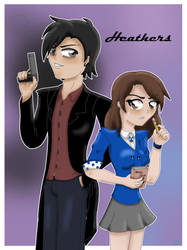 Heathers JD and Veronica by xgirl109