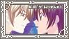 Kei x Hikari stamp by Butterflies-Studio