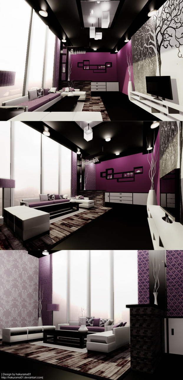 Room design in 3ds max by hakurama01 on deviantart for Room design 3ds max