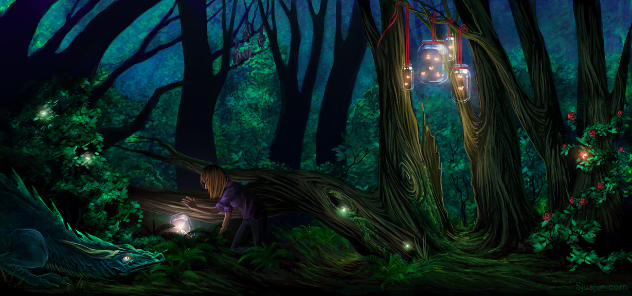 Enchanted Forest By Sjusjun On Deviantart