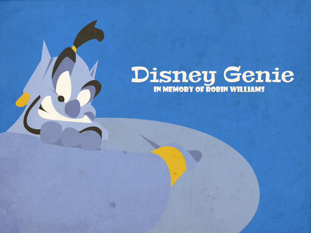 In Memory O F Robin Williams Aladdin Genie By Mexicoknight