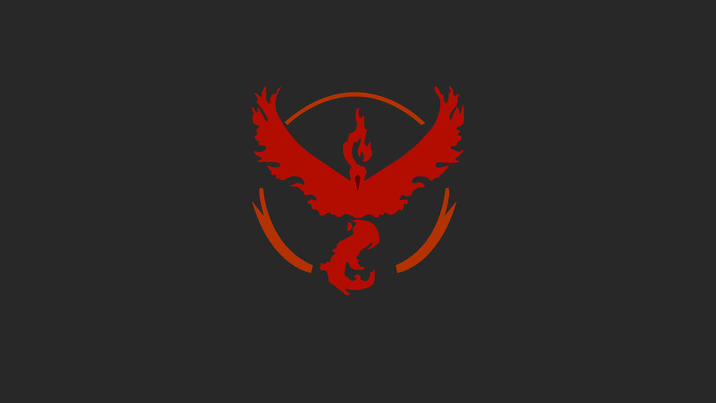 Pokemon Go Team Valor Wallpaper B By Mexicoknight On