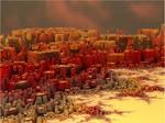 Mandelbrot city by FractalDesire