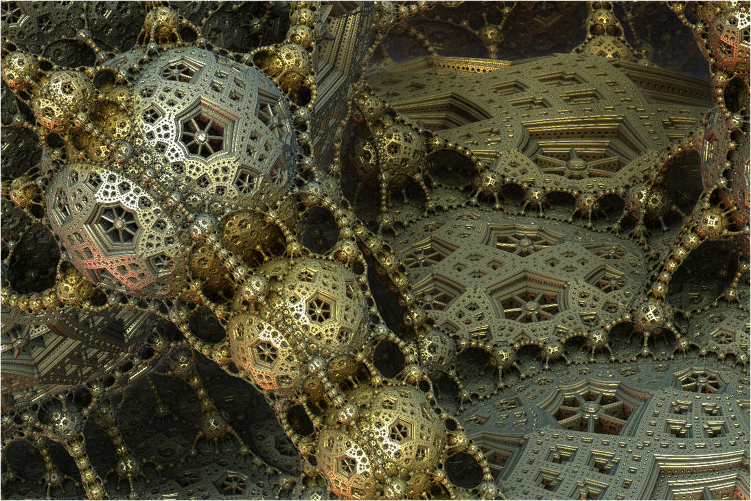 Surreal fractal world by FractalDesire