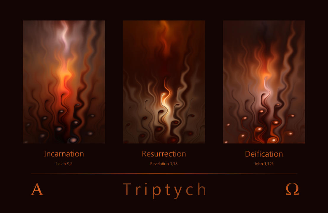 Triptych by FractalDesire